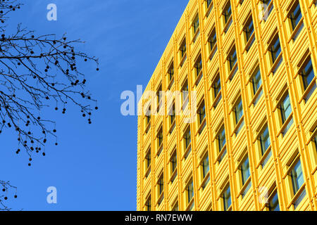 Colourful modern architecture in London - Stock Photo