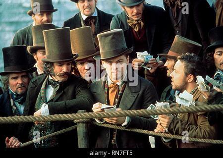 GANGS OF NEW YORK, DANIEL DAY-LEWIS , LEONARDO DICAPRIO, 2002 - Stock Photo