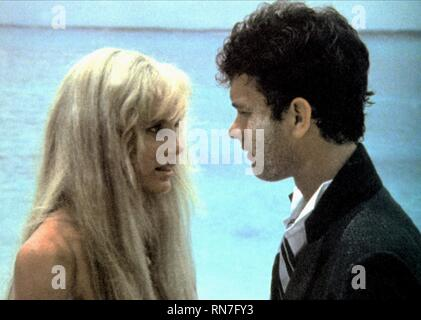 HANNAH,HANKS, SPLASH, 1984 - Stock Photo