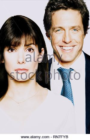 TWO WEEKS NOTICE, SANDRA BULLOCK , HUGH GRANT, 2002 - Stock Photo