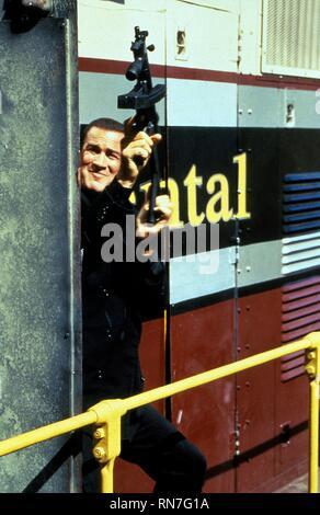 STEVEN SEAGAL, UNDER SIEGE 2: DARK TERRITORY, 1995 - Stock Photo