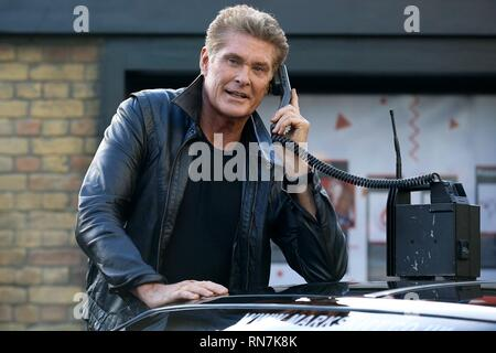 DAVID HASSELHOFF, SHARKNADO 3: OH HELL NO!, 2015 - Stock Photo