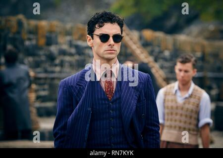 AIDAN TURNER, AND THEN THERE WERE NONE, 2015 - Stock Photo
