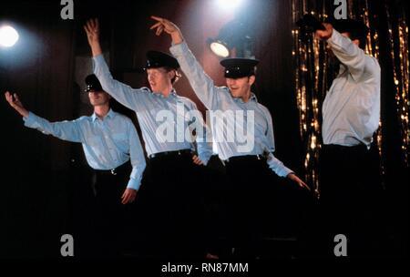 DANCE SCENE, THE FULL MONTY, 1997 - Stock Photo