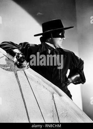 TYRONE POWER, THE MARK OF ZORRO, 1940 - Stock Photo