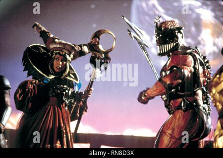 CORTEZ,GINTHER, MIGHTY MORPHIN POWER RANGERS: THE MOVIE, 1995 - Stock Photo
