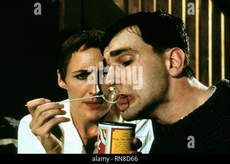 WHELAN,DAY-LEWIS, MY LEFT FOOT, 1989 - Stock Photo