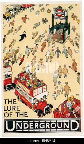 Alfred Leete was a well-known comic illustrator, whose work included cartoons, postcards, book illustrations and posters which he designed for the Underground Group from1915-1928. His most famous poster, 'Your Country Needs You' (1914) first appeared on the cover of the weekly magazine 'London Opinion' before being adapted for use as a recruitment poster. It is probably the best-known war poster of all time and has inspired many adaptations. - Stock Photo