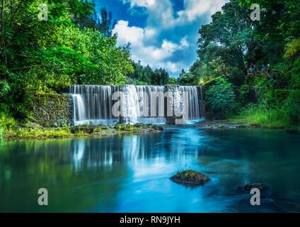 Kauai Waterfall - Stock Photo