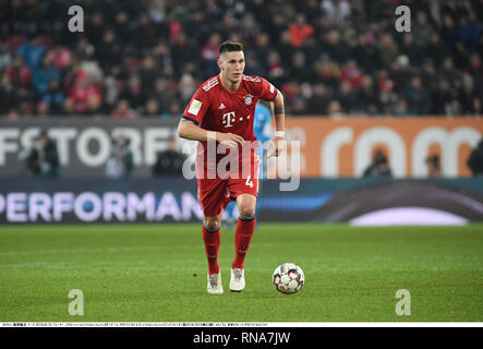 Augsburg, Germany  15th Feb, 2019  Soccer: Bundesliga, FC Augsburg