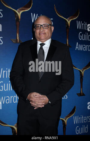 Los Angeles, USA. 17th Feb, 2019. Larry Wilmore 02/17/2019 2019 Writers Guild Awards held at The Beverly Hilton in Beverly Hills, CA Credit: Cronos/Alamy Live News - Stock Photo