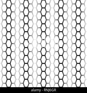Black blended lines background with white tire track seamless silhouettes - Stock Photo