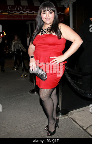New York, USA. 19 Jan, 2011. Marcy Guevara at The Wednesday, Jan 19, 2011 Celebrity Sightings at The Chelsea Room in New York, USA. Credit: Steve Mack/S.D. Mack Pictures/Alamy - Stock Photo