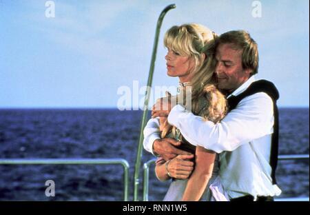 KIM BASINGER, KLAUS MARIA BRANDAUER, NEVER SAY NEVER AGAIN, 1983 - Stock Photo