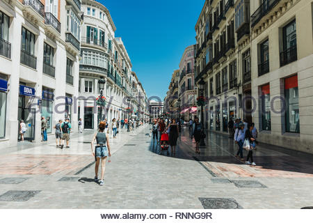 Pisa, Italy - May, 17, 2017: Locals and tourists walking around pisa city centre. - Stock Photo