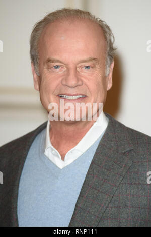 London, UK. 19th Feb, 2019. Kelsey Grammer at the announcement for a new production of 'Man of La Mancha' at the London Coliseum, London. Picture: Steve Vas/Featureflash Credit: Paul Smith/Alamy Live News - Stock Photo