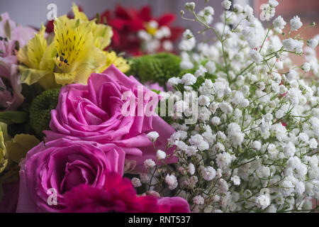 floral composition - Stock Photo