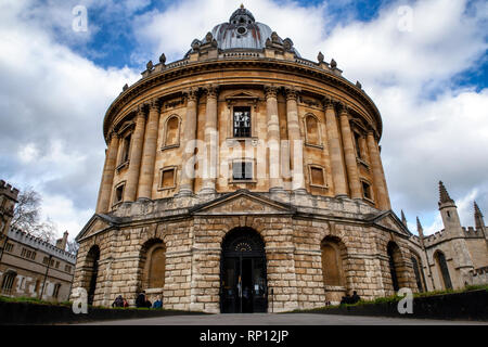UK, Oxford, Radcliffe Camera, 18th century, Palladian style academic library and reading rooms, designed by James Gibbs. - Stock Photo