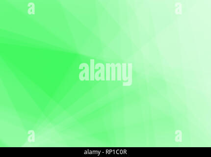 Abstract neon green background with light and transparent lines, triangle shapes and diagonal stripes in random pattern. Copy space. - Stock Photo