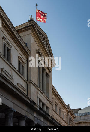 Berlin, Germany- September 18, 2018: The Neues Museum ,New Museum on Museum island - Stock Photo