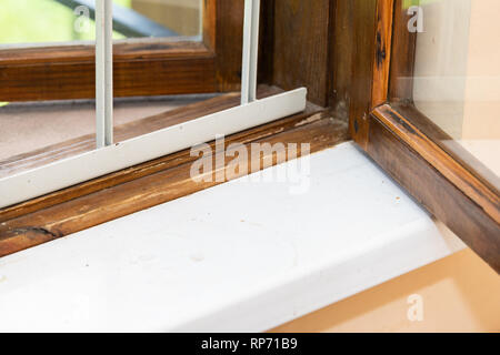 Open Window With Security Bars In Kampong Ayer Water