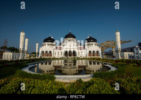 Baiturrahman Grand Mosque Banda Aceh - Stock Photo