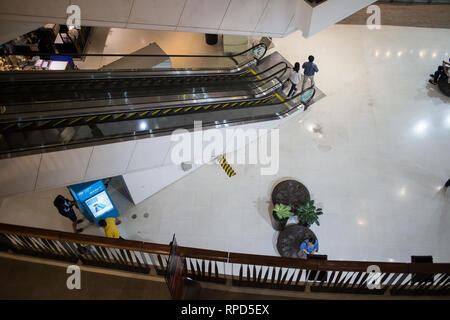 Chiangmai, Thailand - February 21 2019: Resting seat inside Central Festival Chiang mai. New Business Plaza of Chiangmai. - Stock Photo
