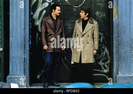 DEPP,PACINO, DONNIE BRASCO, 1997 - Stock Photo