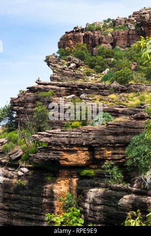 Burrunggui, Nourlangie Rock, Kakadu National Park, Northern territory, Australia. - Stock Photo