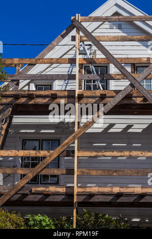 House with frame - Stock Photo