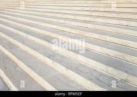 Marble Steps of the Supreme Court - Stock Photo