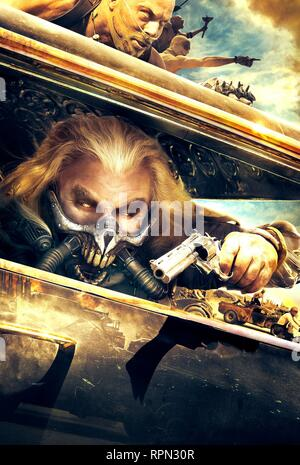 Original film title: MAD MAX: FURY ROAD. English title: MAD MAX: FURY ROAD. Year: 2015. Director: GEORGE MILLER. Stars: NATHAN JONES; HUGH KEAYS-BYRNE. Credit: VILLAGE ROADSHOW / Album - Stock Photo