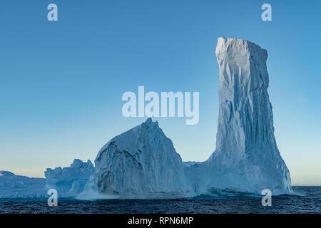 Iceberg off South Georgia - Stock Photo