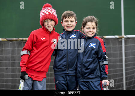 Words: Dean Murray Pictures: Euan Cherry/Cover Images  A charity for young amputee footballers are asking Scotland to get behind them.  Amputee Football Scotland needs vital funds to help three sports-mad children represent their country in Germany.  The inspiring youngsters are hoping to take part in July's European Amputee Football Junior Camp '19.  Keeley Cerretti, 10, from Larkhall, Daniel McDevitt, 10, from Stranraer and Harris Tinney, 11, from Glasgow, all play for Partick Thistle Amputees.  They hope to join up to 100 other young amputees from countries all across Europe over four days  - Stock Photo