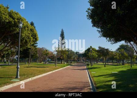 La Batería Park. Torremolinos, Málaga, Spain. - Stock Photo