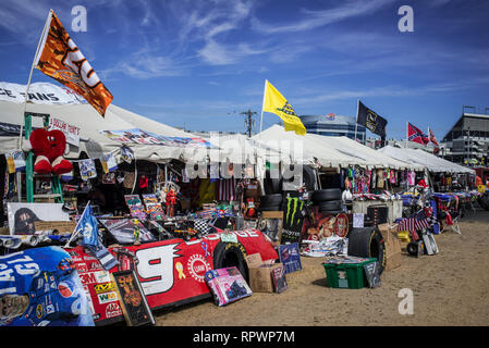 Behind the scenes at the Coca-Cola 600 and its big Speed Week party before the Big Race - Stock Photo