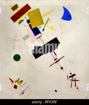 Suprematism No. 56 1916 Kazimir Malevich 1878-1935 Russia, USSR,  Russian, Federation, - Stock Photo