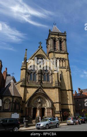 St Wilfrid's Catholic Church in the City of York, UK. - Stock Photo