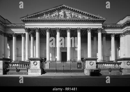 The Fitzwilliam Museum Trumpington Street Cambridge - Stock Photo