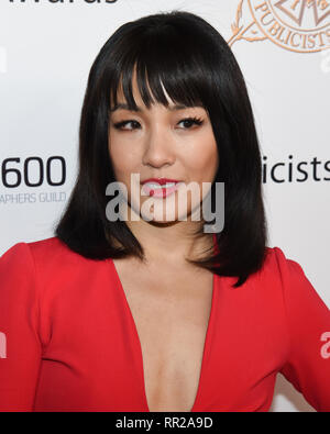 CONSTANCE WU attends the 56th Annual ICG Publicist Awards at The Beverly Hilton Hotel in Beverly Hills, California. 22nd Feb, 2019. Credit: Billy Bennight/ZUMA Wire/Alamy Live News - Stock Photo