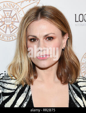 ANNA PAQUIN attends the 56th Annual ICG Publicist Awards at The Beverly Hilton Hotel in Beverly Hills, California. 22nd Feb, 2019. Credit: Billy Bennight/ZUMA Wire/Alamy Live News - Stock Photo