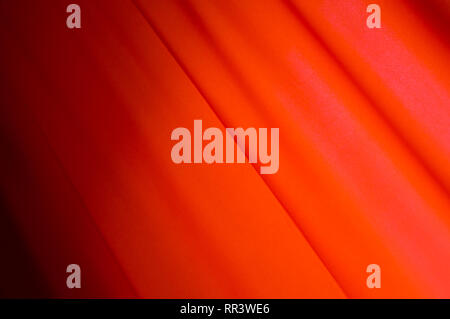 Red drape background. Flag. MayDay. Red Curtain - Stock Photo