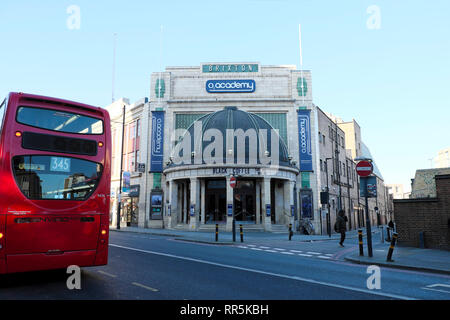 Exterior of O2 Academy building in Brixton, South London UK  KATHY DEWITT - Stock Photo