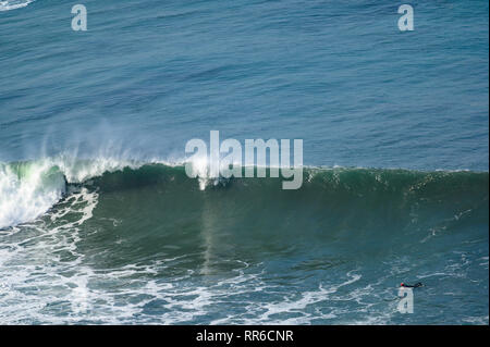 surfing in La Palma - Stock Photo