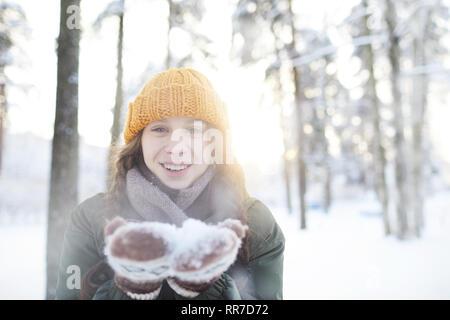 Enjoying Day in Winter Park