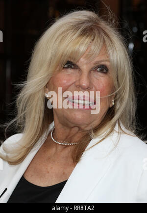 Jul 20, 2015 - London, England, UK - Frank Sinatra: The Man and His Music Press Night, at the Palladium - VIP Arrivals Photo Shows: Nancy Sinatra - Stock Photo