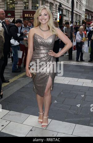 Jul 20, 2015 - London, England, UK - Frank Sinatra: The Man and His Music Press Night, at the Palladium - VIP Arrivals Photo Shows: Anna Johnson - Stock Photo