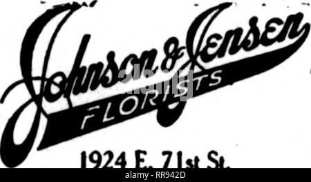 . Florists' review [microform]. Floriculture. 1924 E. 71st Sl Chicago Mnreiia made to any put o( the d<y aBo^mboiM. Dfl^ CHICAGO O'LEARY—Florist 369 East 47th Street Member F. T. D. Send Your CHICAGO Orders to H. N. BRUNS Best Equipped Retail Store on the West Side 3040 W. Madison St., CHICAGO, ILL. GEORGE FISHER & BRO. 183 N. WABASH AVE. CHICAGO PEORIA II I 423 Main St. * ?L'V-'lVliij iJ-il^. Member F. T. D. oreI^ToIses chas. loveridgf CHICAGO 2132-2134 Michigan Avenue Member F. T. D.. Please note that these images are extracted from scanned page images that may have been digitally enh - Stock Photo
