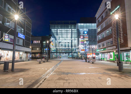 Valkea Shopping Centre in Oulu, Finland - Stock Photo