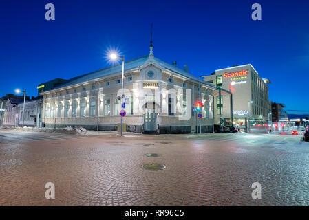 Oulu city center, Finland - Stock Photo